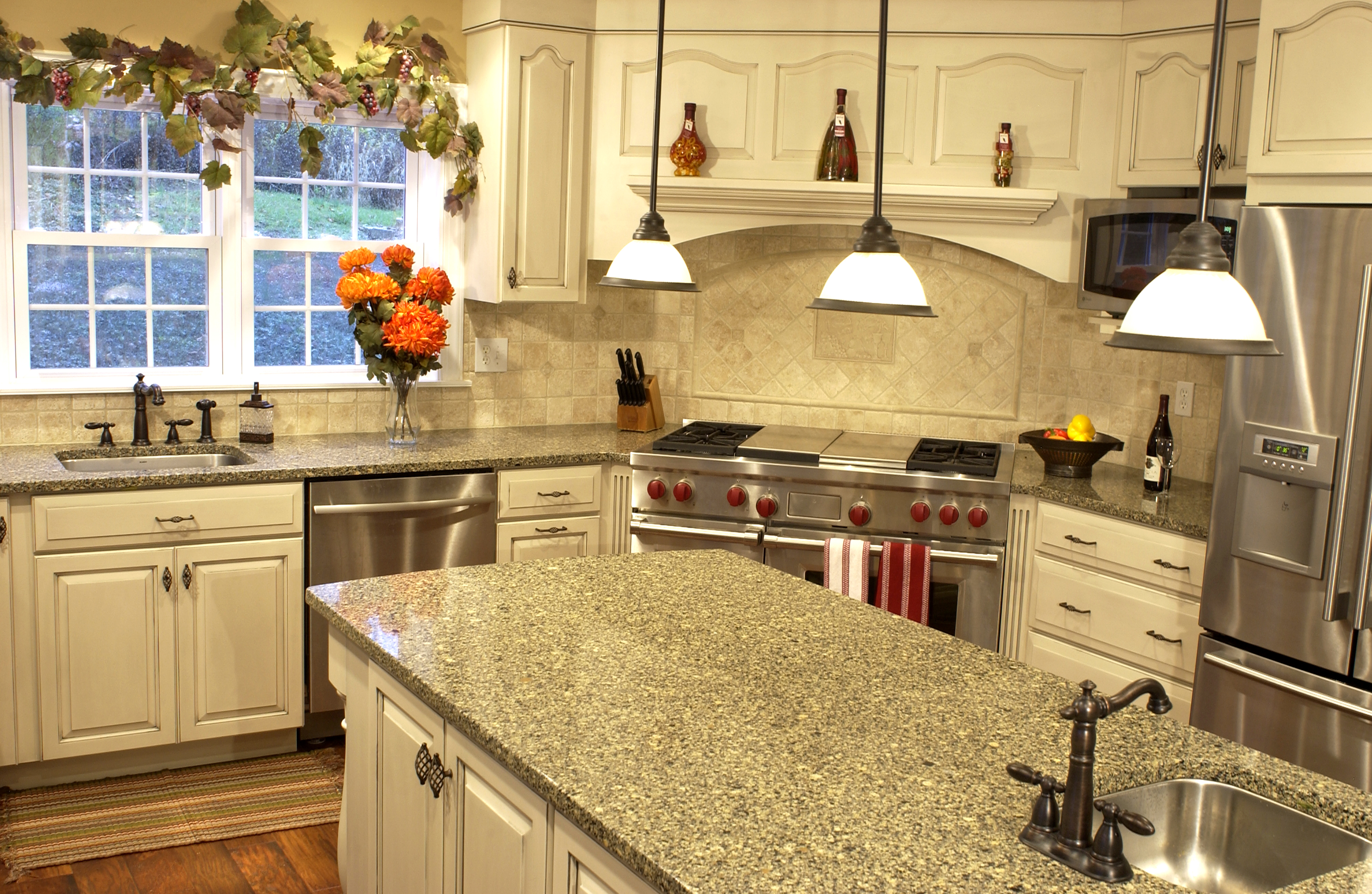 repair and replace kitchen counters to stay on top of scratches the